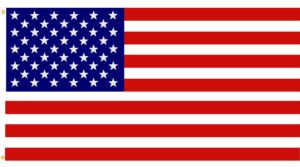 The flag is accurate and detailed with beveled stars. The American Flag vector is in easy edit layers and AI9 format.