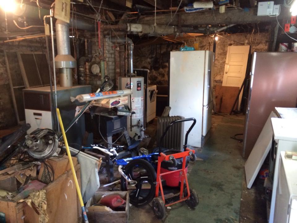 basement junk