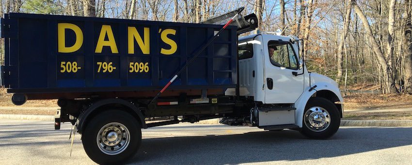 Photo of Dan's Dumpster Rentals Truck in Northborough MA