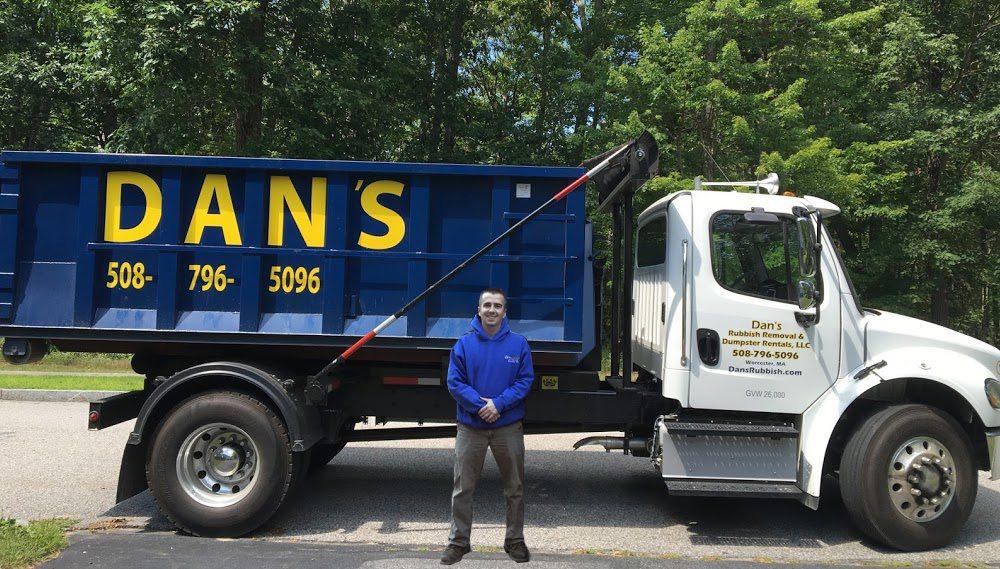 Dan S Rubbish Removal Dumpster Rental Worcester Ma Dan S