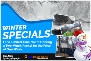 Dumpster Rental Special- Worcester MA from Dan's Dumpsters